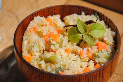 Quinoa, um Krebs und Diabetes zu verhindern